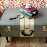 valiza practica in loc de masuta de cafea
